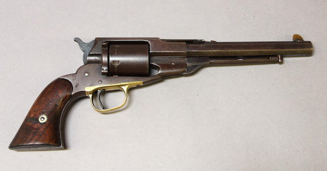 A Remington Beal's conversion revolver -Select US Arms Type-