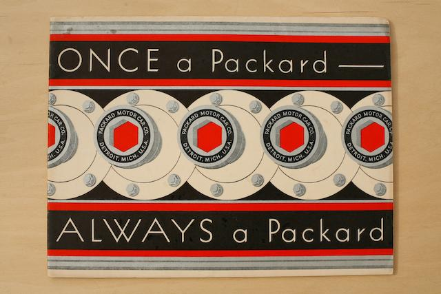 A lot of two Packard sales catalogs,