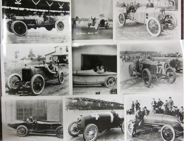 A good collection of photographs featuring the winners of the Indianapolis 500 mile race from 1911-1957,