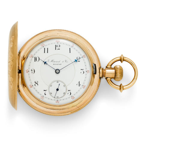 E. Howard & Co., Boston. A fine gold hunter cased watchSeries VII, no. 228250, circa 1893