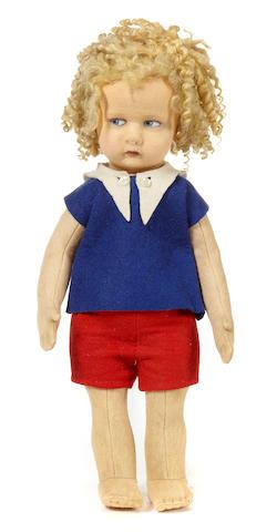 A Lenci felt doll