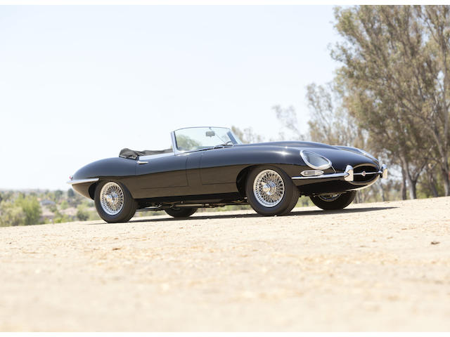 1963 Jaguar XKE Series I 3.8 OTS  Chassis no. 878605 Engine no. R8809-0