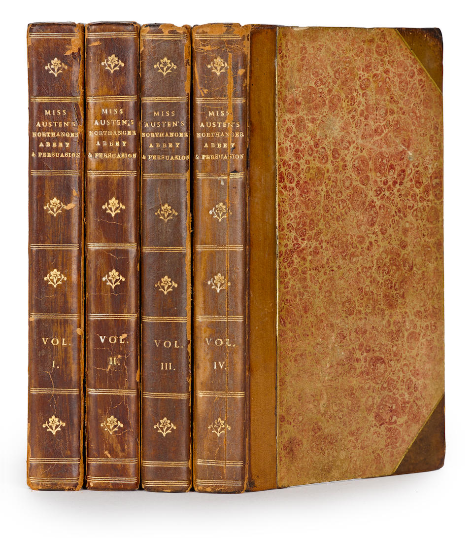 AUSTEN, JANE. 1775-1817. Northanger Abbey: and Persuasion. With a Biographical Notice of the Author. London: John Murray, 1818.