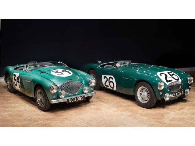 The ex-Works 1953-1955 Austin-Healey Special Test Car/100S joins NOJ 393