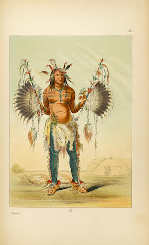 CATLIN, GEORGE. 1796-1872. Illustrations of the Manners, Customs & Condition of the North American Indians.   London: Chatto & Windus, 1876.