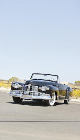 1948 Lincoln V-12 Continental Convertible