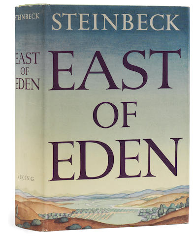 STEINBECK, JOHN. 1902-1968.  East of Eden. New York: Viking Press, 1952.