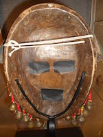 Dan Mask, Ivory Coast or Liberia height 17in (43.2cm)