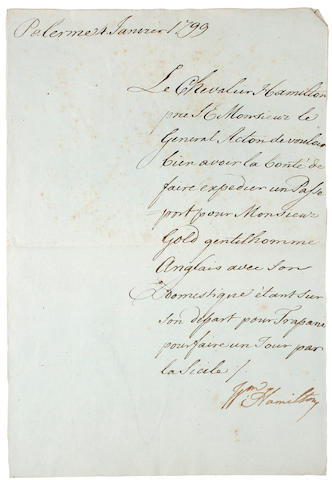 COLLECTORS AUTOGRAPHS. Collection of letters by various connoisseurs, artists & travelers, comprising: