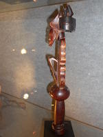 Chokwe Scepter, Angola height 15 1/2in (39.4cm)