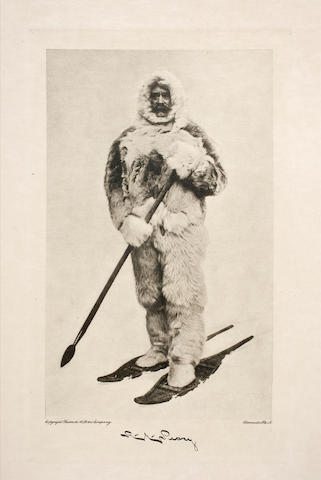 PEARY, ROBERT. 1856-1920. The North Pole. London: Hodder and Stoughton, 1910.