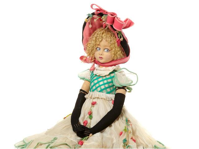 A Lenci long-limbed lady doll