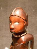 Bembe Male Figure, Democratic Republic of the Congo height 7in (17.8cm)