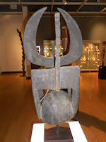 Northern Tussian or Siemu Helmet Mask, Burkina-Faso height 26 1/4in (66.5cm)