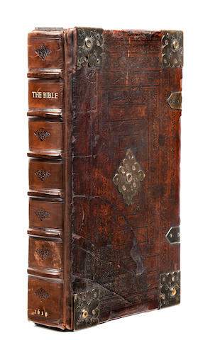 [BIBLE IN ENGLISH] The Bible. That is, the Holy Scriptures Contained in the Old and New Testament. Translated According to the Hebrew and the Greek, and Conferred with the Best Translations in Divers Languages. Amsterdam: Thomas Stafford, 1644.<BR />