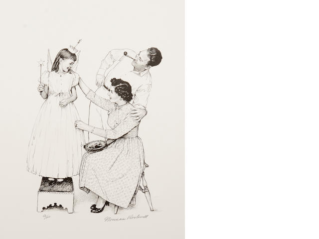 Norman Rockwell (American, 1894-1978); American Family suite;