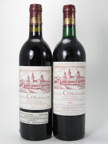 Château Cos d'Estournel 1982 (3)<BR />Château Cos d'Estournel 1985 (2)