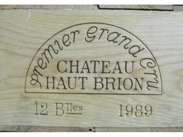 Château Haut-Brion 1989 (12)
