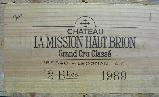 Château La Mission Haut-Brion 1989 (12)