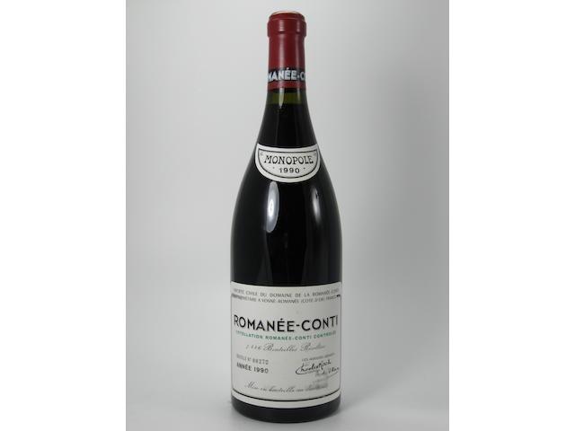 Romanée-Conti, Domaine de la Romanée-Conti 1990 (1)