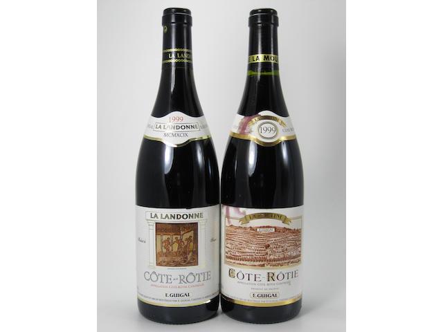 Côte-Rôtie, La Landonne, E. Guigal 1999 (8)<BR />Côte-Rôtie, La Mouline, E. Guigal 1999 (8)<BR />Côte-Rôtie, La Turque, E. Guigal 1999 (2)