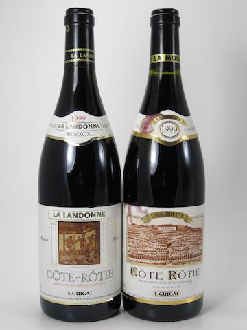 C&#244;te-R&#244;tie, La Landonne, E. Guigal 1999 (8)<BR />C&#244;te-R&#244;tie, La Mouline, E. Guigal 1999 (8)<BR />C&#244;te-R&#244;tie, La Turque, E. Guigal 1999 (2)