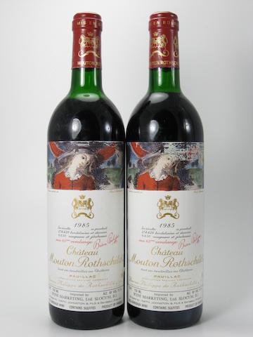 Château Mouton Rothschild 1985 (9)