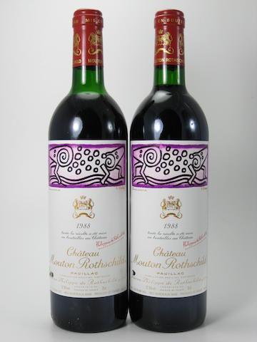 Château Mouton Rothschild 1988 (12)