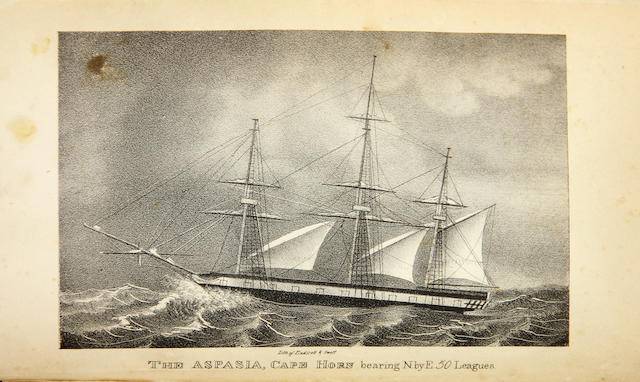 FANNING, EDMUND. 1769-1841. Voyages Round the World; with Selected Sketches of Voyages to the South Seas, North and South Pacific Oceans, China, etc. New York: Collins & Hannay, 1833.