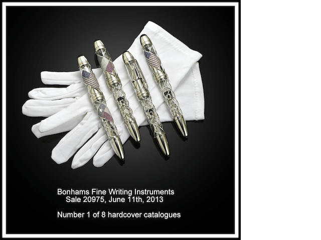 [BONHAMS LIMITED EDITION HARDCOVER CATALOGUE.] June 2013 Fine Writing Instruments Catalogue: Limited Edition 8