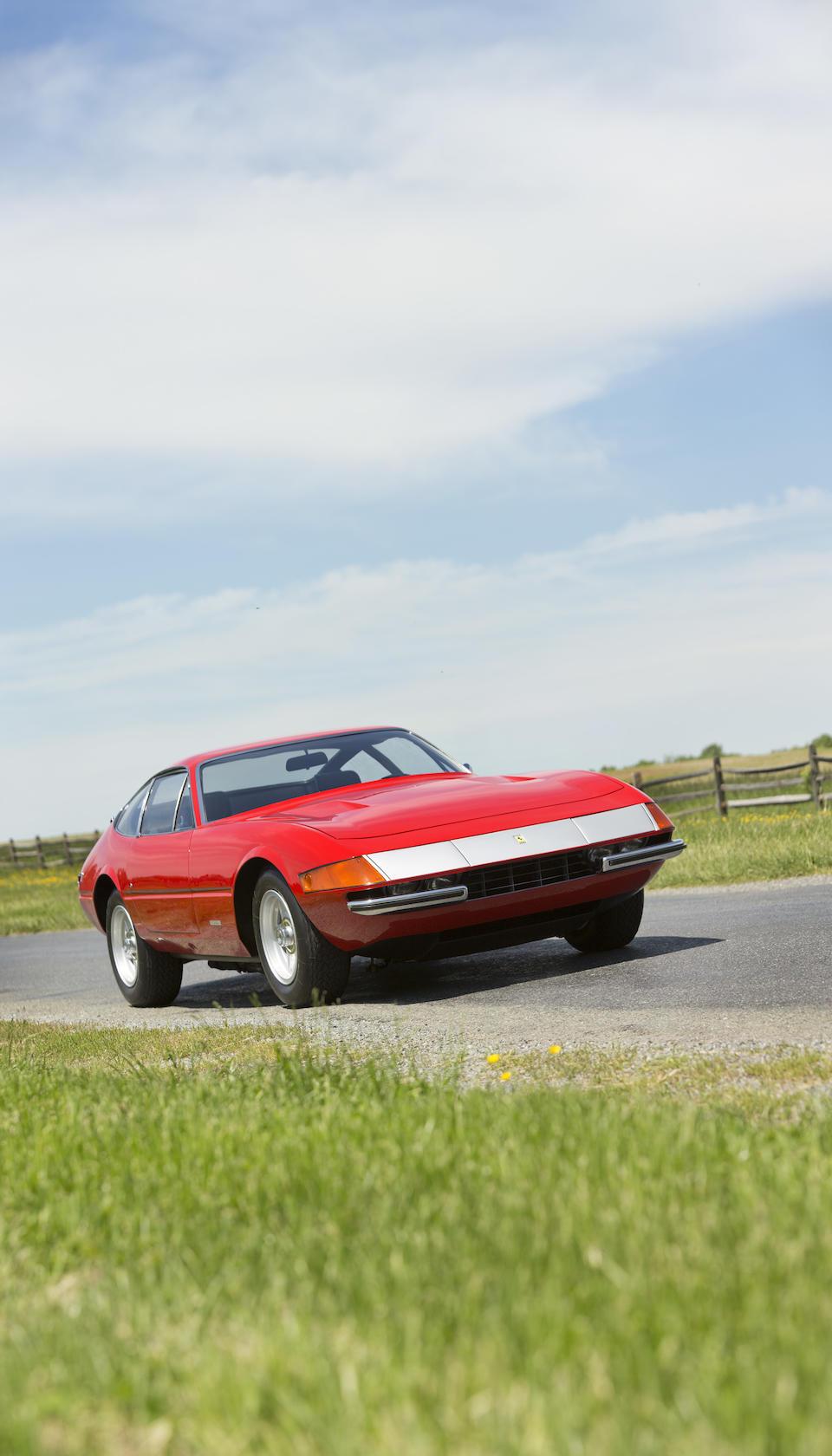 1971 Ferrari 365GTB/4 Daytona Berlinetta  Chassis no. 14233 Engine no. B806