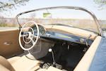 1957 Porsche 356A 1600 Speedster  Chassis no. 82948 Engine no. 64236