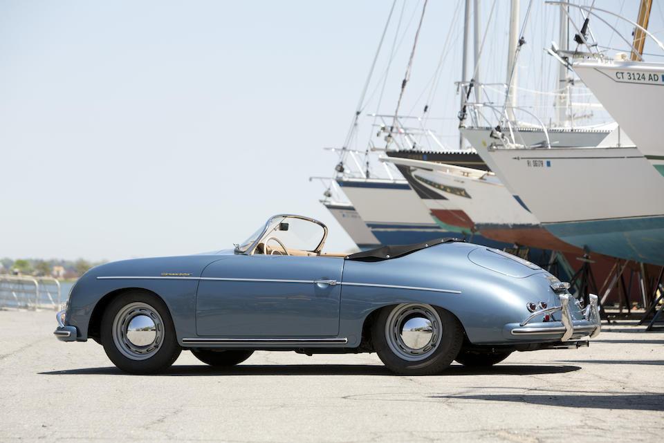 1957 Porsche 356A 1600 Speedster  Chassis no. 82948 Engine no. 64236