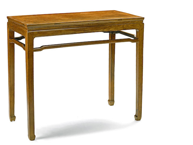A huanghuali side table 18th century