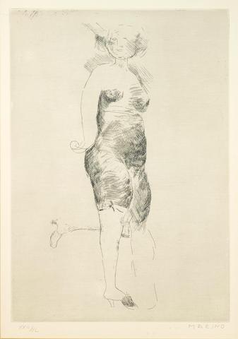 Marino Marini (Italian, 1901-1980); Reminiscence;