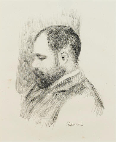 Pierre-Auguste Renoir (French, 1841-1919); Ambroise Vollard, from Douze Lithographies Originales de Pierre-Auguste Renoir;