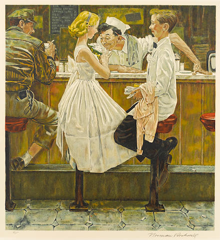 Norman Rockwell (American, 1894-1978); After the Prom;