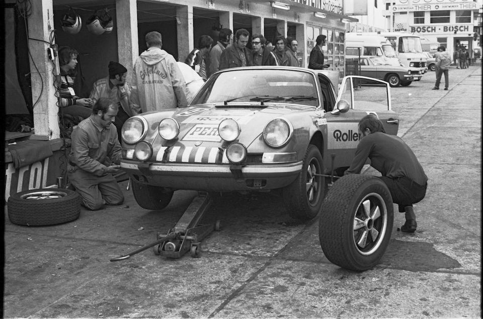 The ex-Guenther Buehl, Nürburgring 36 Hours Winning,1970 Porsche 911S/T Coupe  Chassis no. 9110301014 Engine no. 6301386