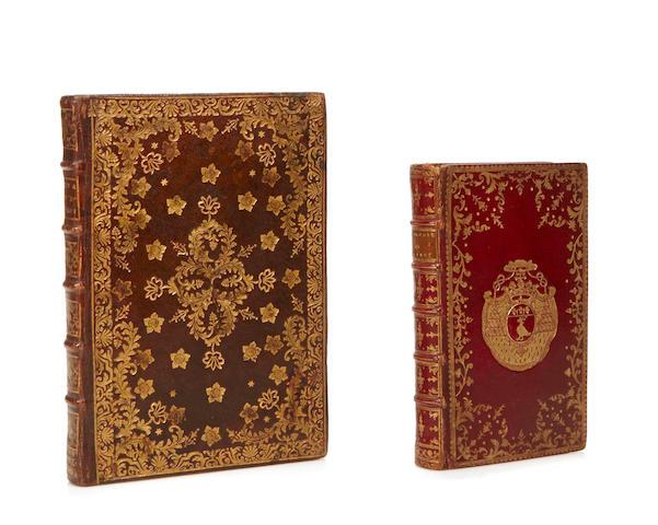FINE BINDINGS. 1. DE VILLIERS, MARC-ALBERT.  Apologie du celibat chretien. Paris: Chez la Veuve Damonneville & Musier [and others], 1761.