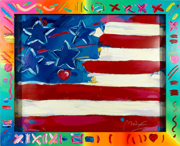 Peter Max, Deluxe Flag