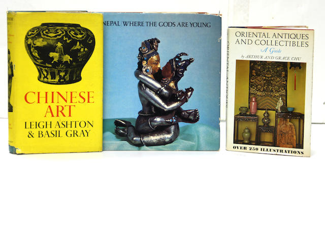 A group of 22 books and catalogues on Asian Art