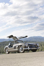 1955 Mercedes-Benz 300 SL Gullwing Coupe  Chassis no. 198.040.5500183 Engine no. 19804055184