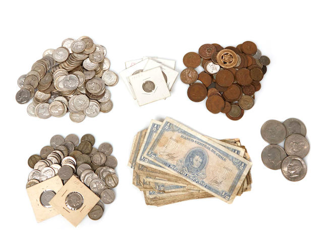 Coins, Currency and Stamps