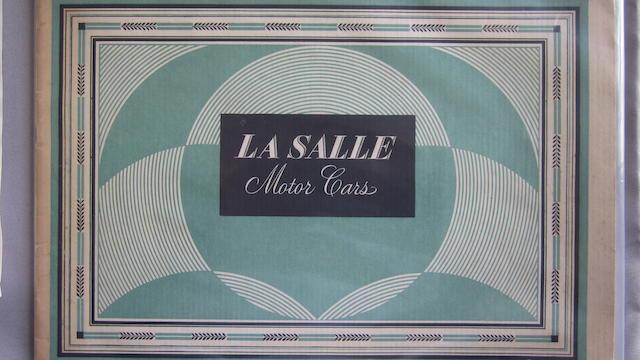 A 1931 Cadillac LaSalle sales brochure,