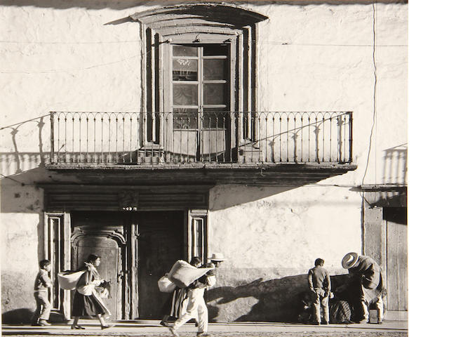 Brett Weston, Balcony, Mexico, gsp, signed