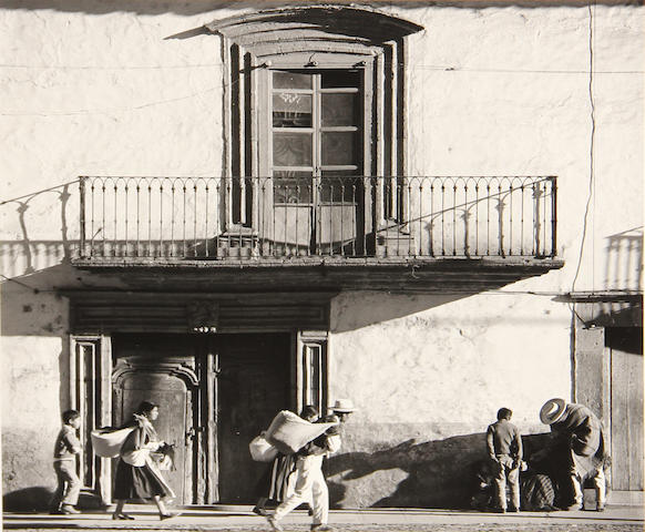 Brett Weston, Balcony, Mexico, gsp, signed