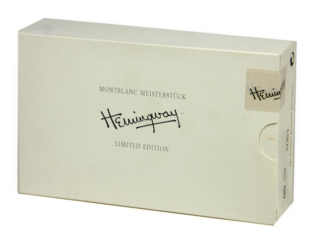MONTBLANC: Hemingway Writers Series Limited Edition Fountain Pen *SEALED*