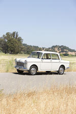 From the Martin Swig Collection,1963 Fiat 1100 Sedan  Chassis no. 103G*1010341*