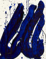 Sam  Francis (1923-1994) Untitled (SF82-742), 1982 19 x 15 1/2in. (48.3 x 39.4cm)