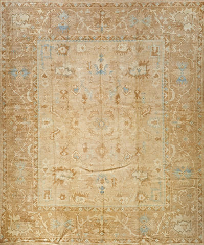 A Contemporary Turkish carpet  Turkey size approximately 11ft. 9in. x 14ft.